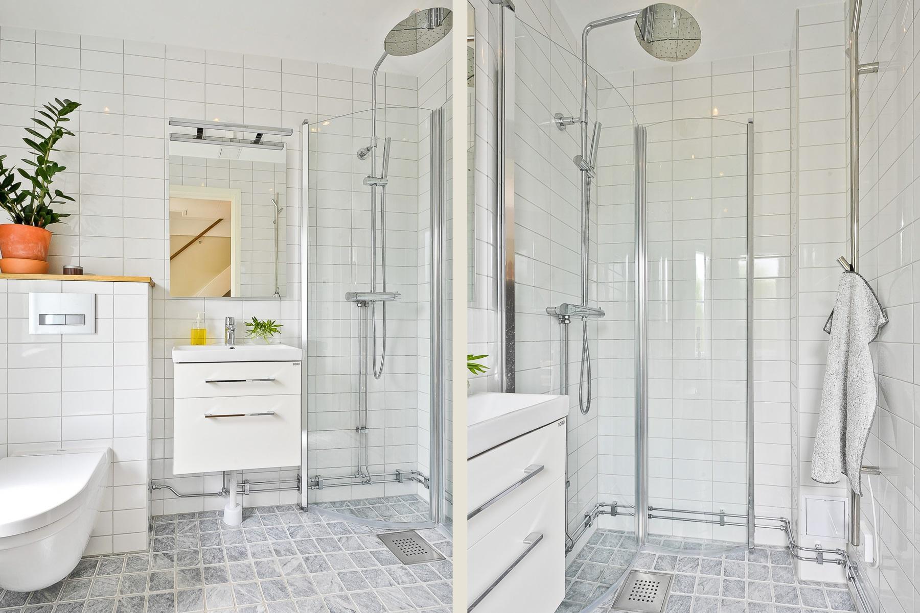 Gäst wc med dusch