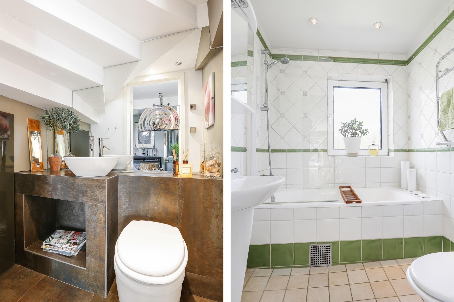 Badrum + gäst wc