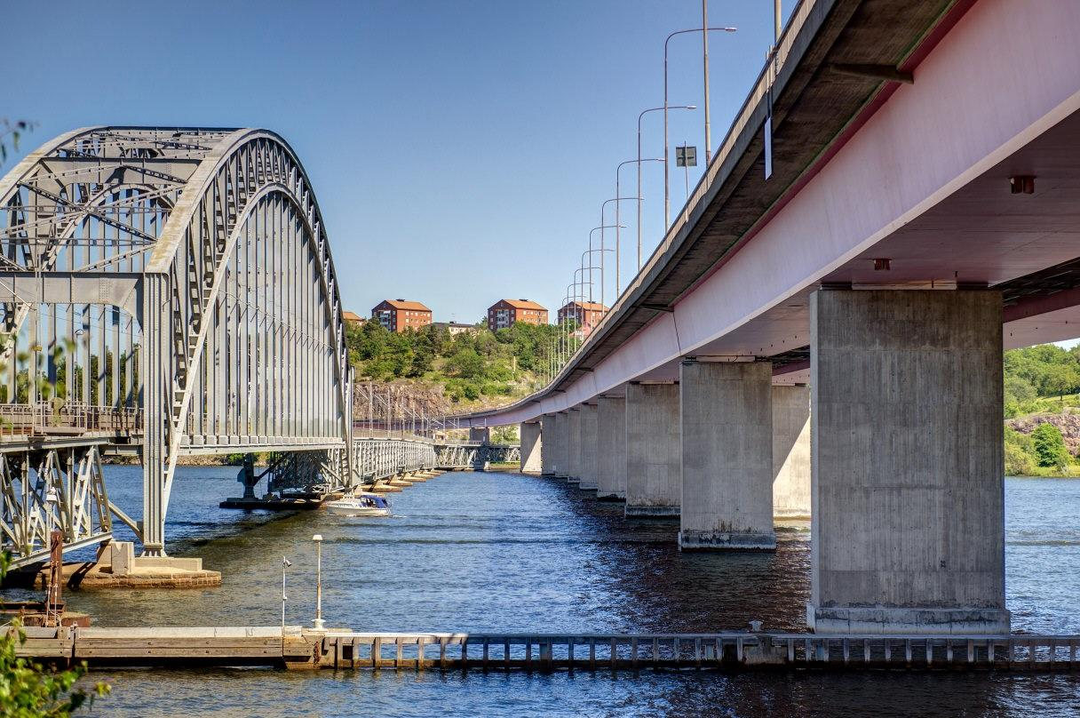 Områdesbild Lidingöbroarna